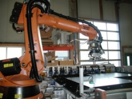 Robotik + Automation (Beispiel Blechbearbeitung)