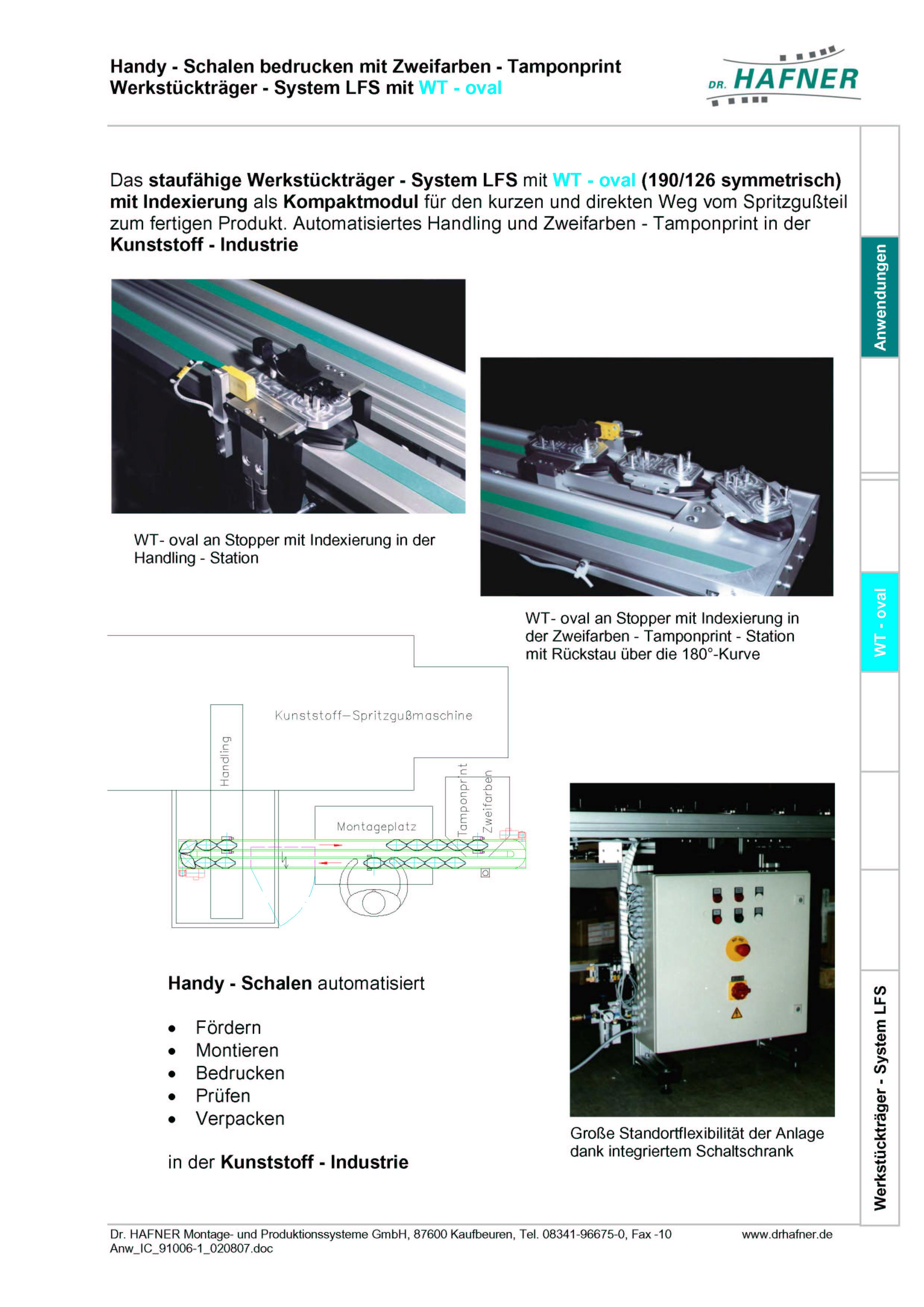 Dr. HAFNER_PKWP_25 Handy Schalen bedrucken Werkstückträger