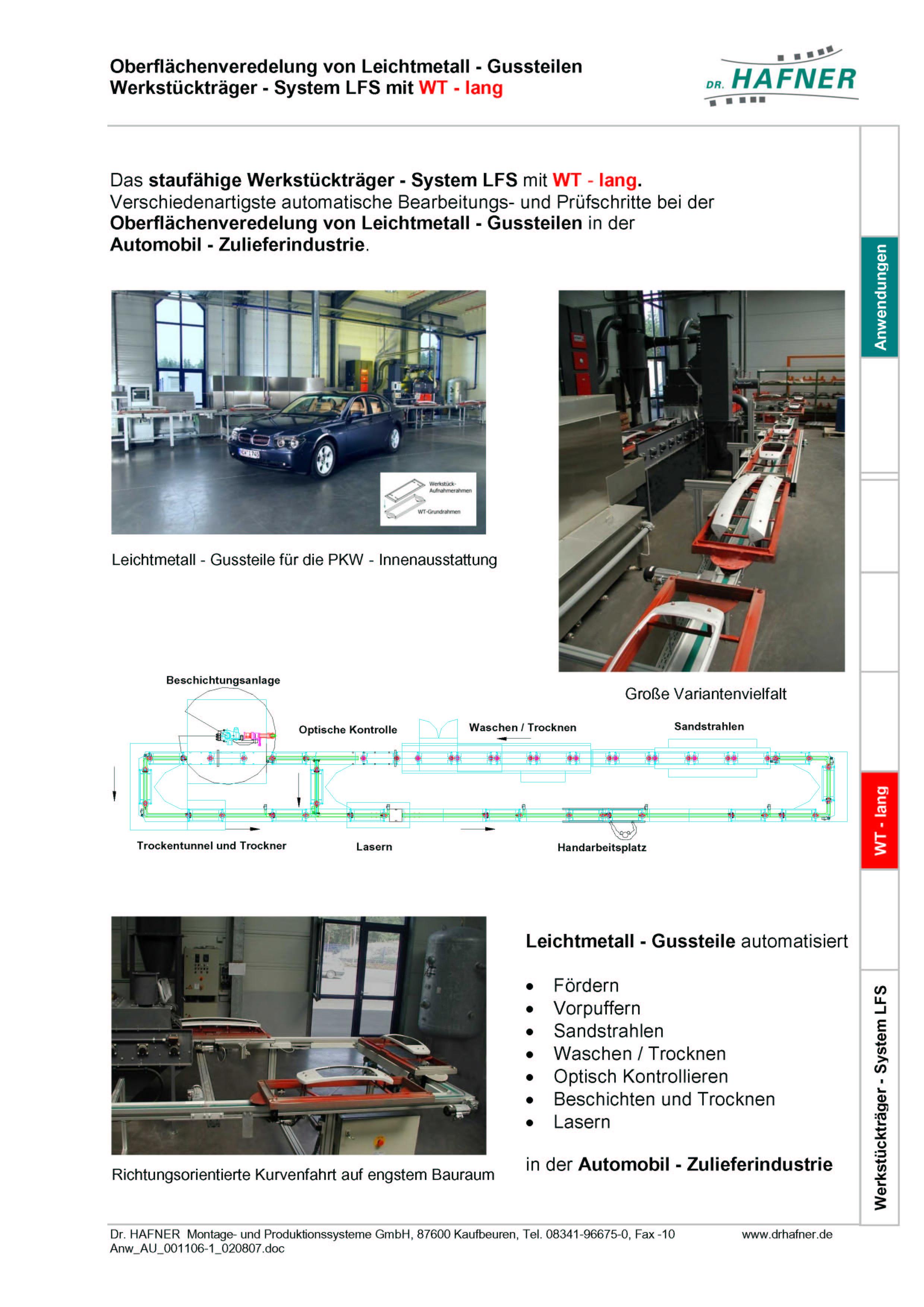Dr. HAFNER_PKWP_30 Prmern Aluguss Werkstückträger