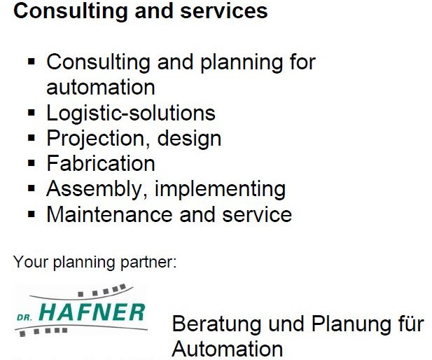 Consulting and solutions