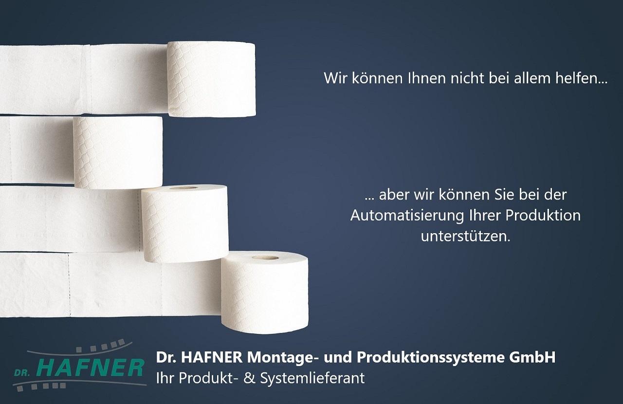 Dr. HAFNER Advertisement